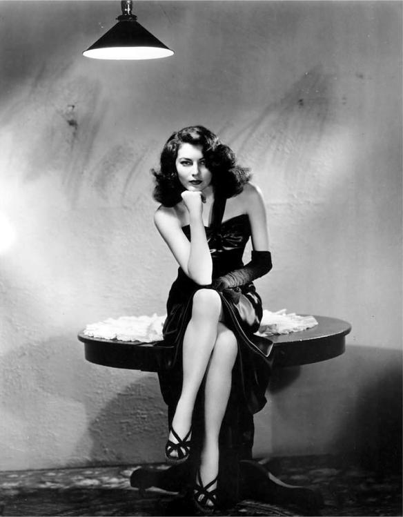 Ava Gardner promotional pose for