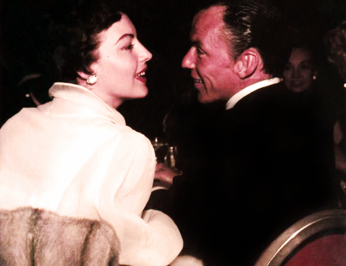 Ava with the love of her life, Frank Sinatra.