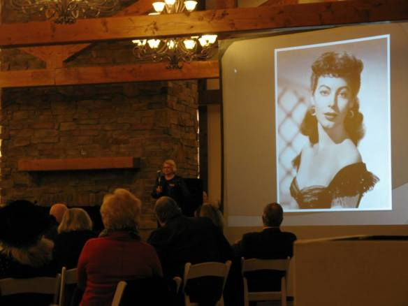 Mary Helen Wyatt shares her personal memories of Ava with our guests.