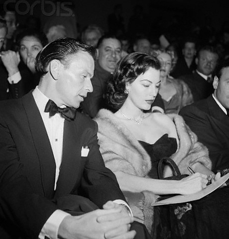 Ava and Frank Pandora and Flying Dutchman premiere Los Angeles 1952
